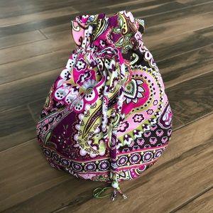 Vera Bradley very berry paisley ditty bag